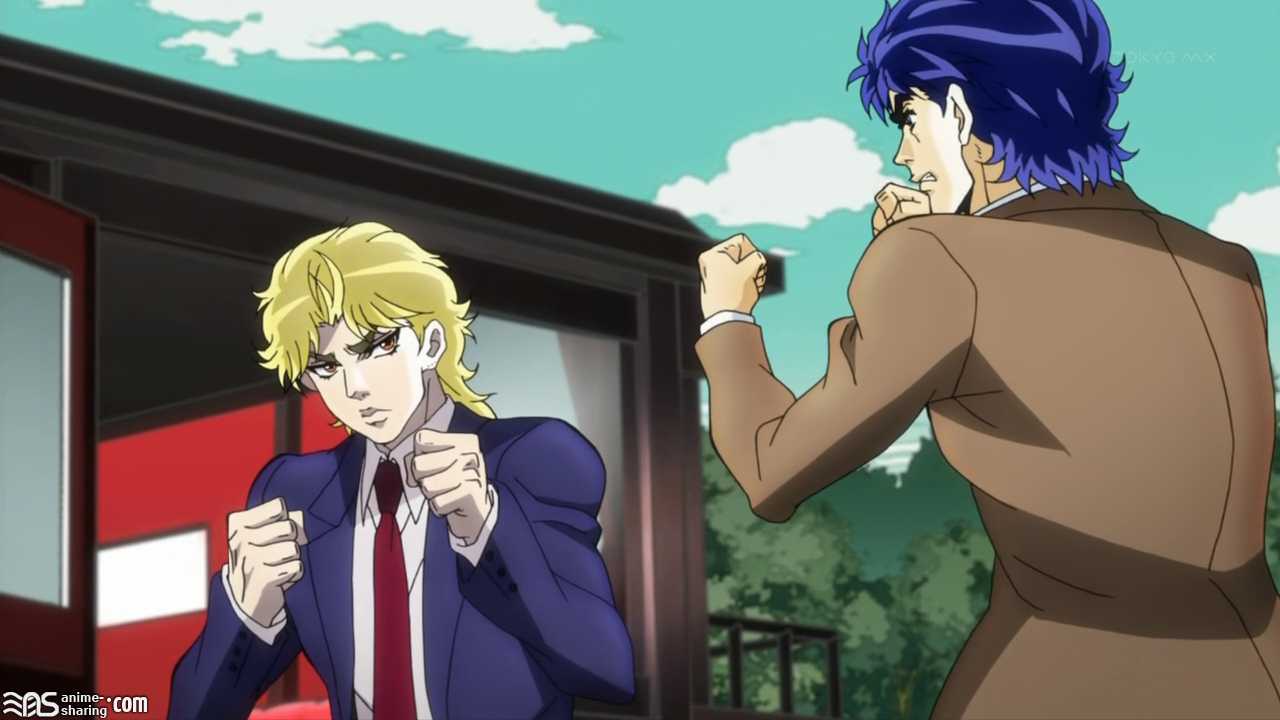 Jojo Bizarre Adventure Anime