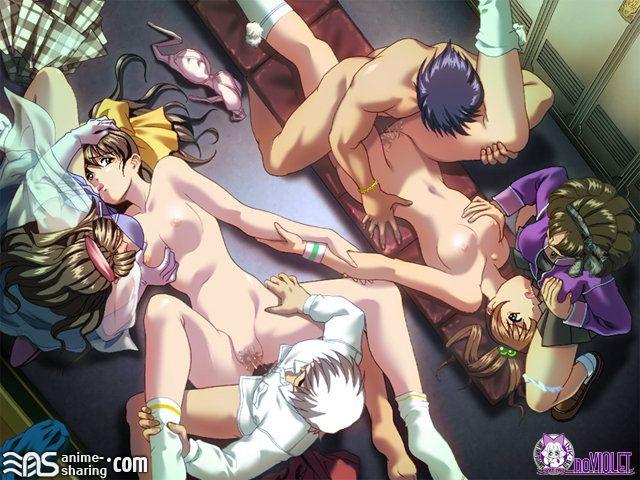 hentai orgia
